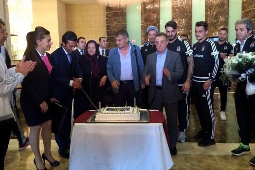 Beşiktaş kafilesi Konya'da 16