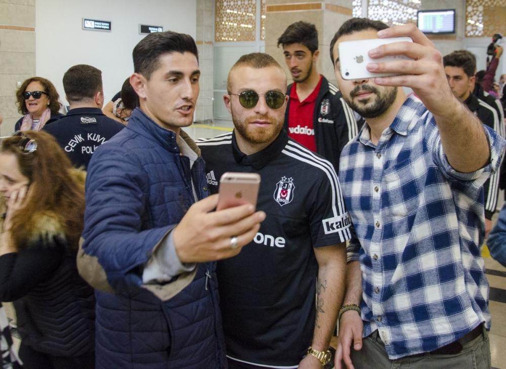 Beşiktaş kafilesi Konya'da 9