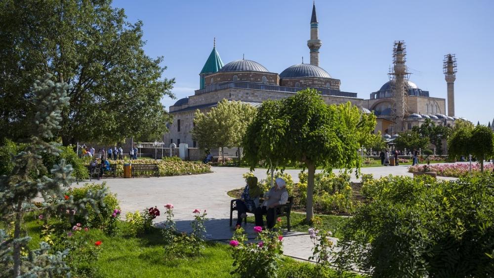 Mevlana Müzesi ramazana hazır 10