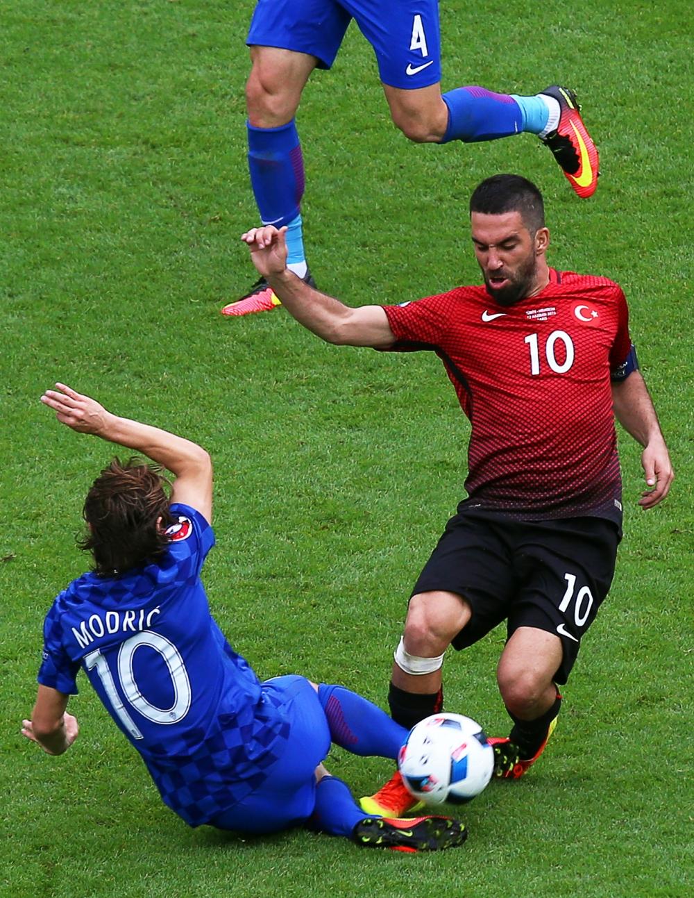 Türkiye: 0 - Hırvatistan: 1 13