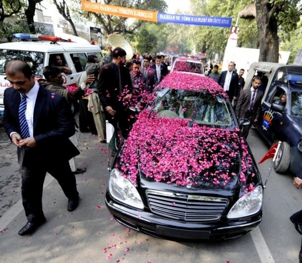 Başbakan Erdoğan Pakistan'da 2