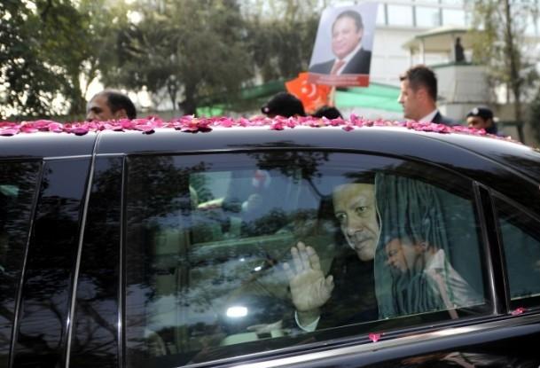 Başbakan Erdoğan Pakistan'da 5