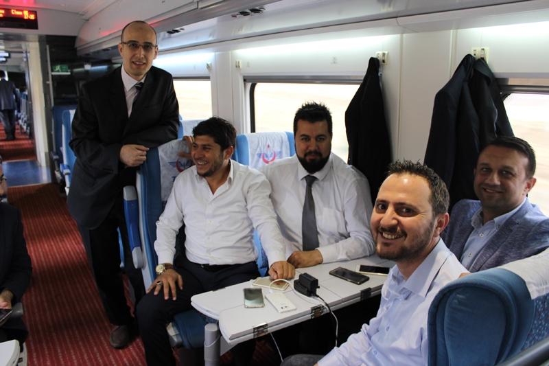 Konyalılar Ankara'ya hızlı trenle gitti 1