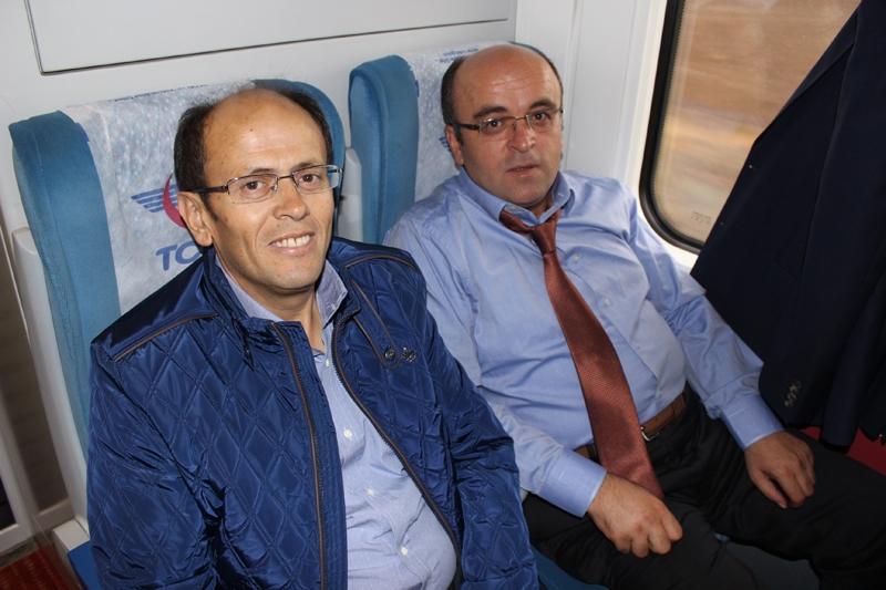 Konyalılar Ankara'ya hızlı trenle gitti 10