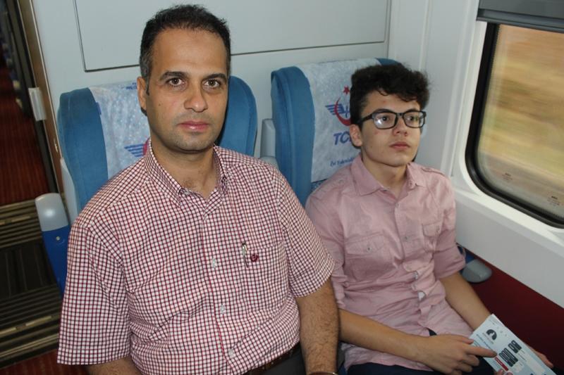 Konyalılar Ankara'ya hızlı trenle gitti 11