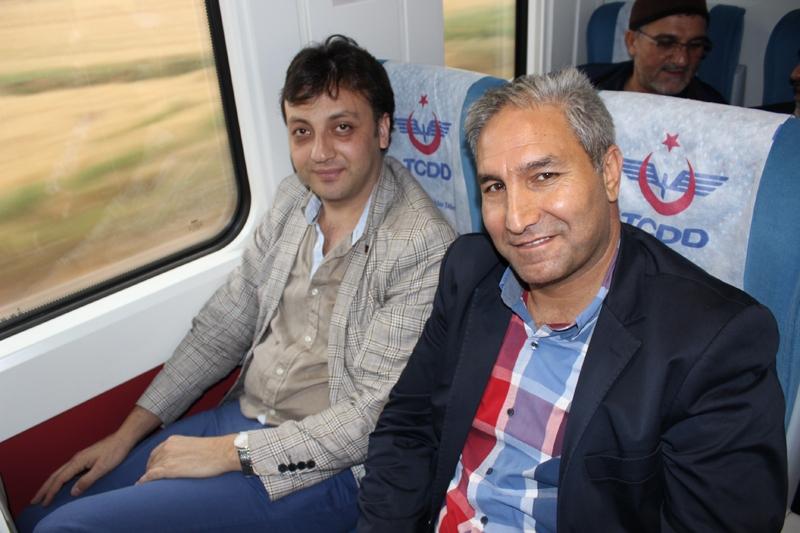 Konyalılar Ankara'ya hızlı trenle gitti 13