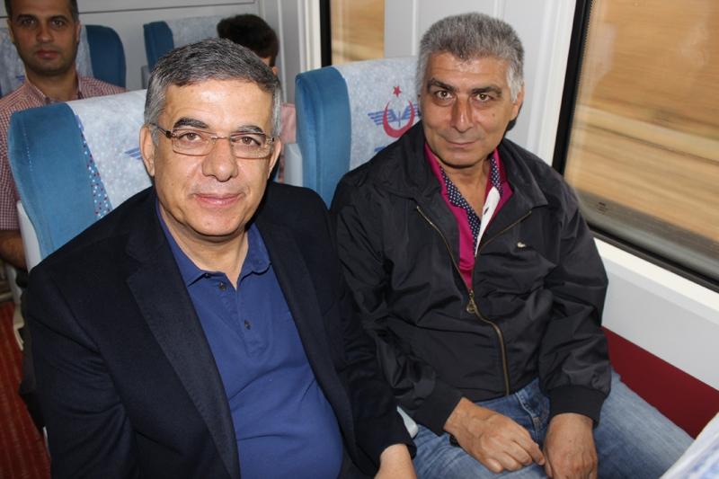 Konyalılar Ankara'ya hızlı trenle gitti 14
