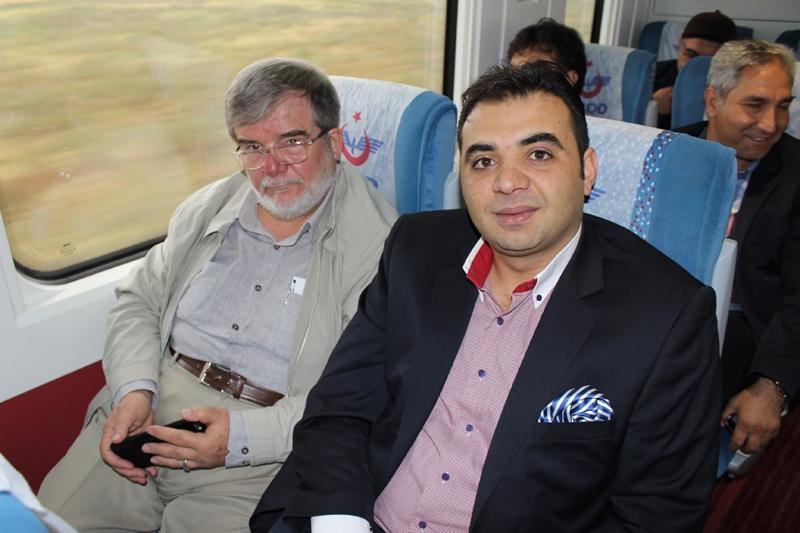 Konyalılar Ankara'ya hızlı trenle gitti 15
