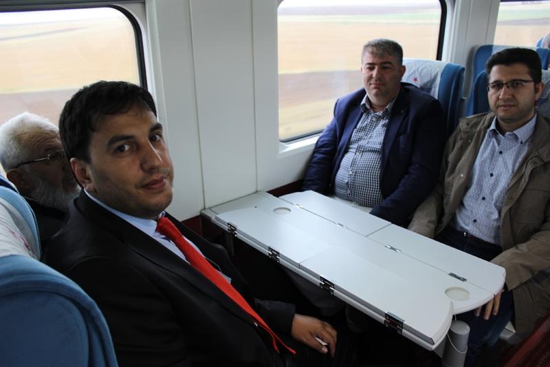 Konyalılar Ankara'ya hızlı trenle gitti 17