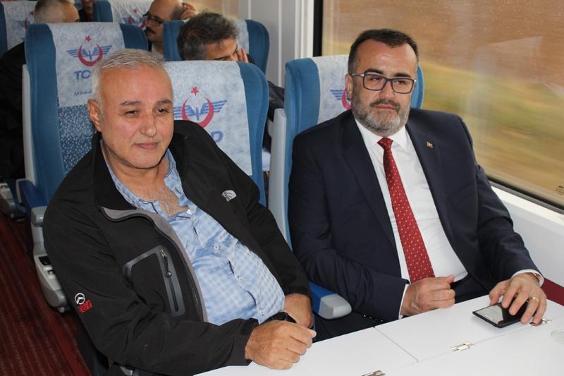 Konyalılar Ankara'ya hızlı trenle gitti 18