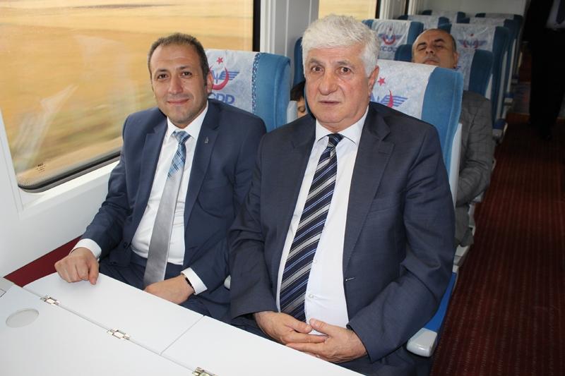 Konyalılar Ankara'ya hızlı trenle gitti 19