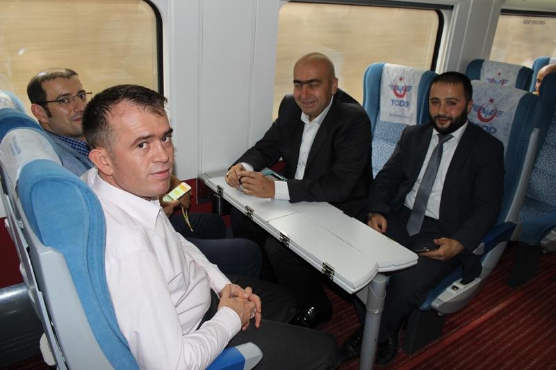 Konyalılar Ankara'ya hızlı trenle gitti 2