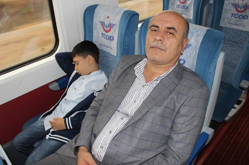 Konyalılar Ankara'ya hızlı trenle gitti 20