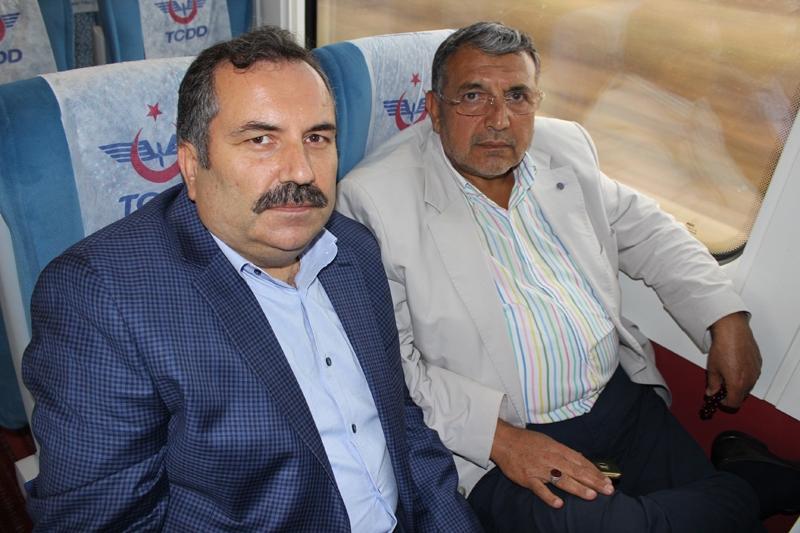 Konyalılar Ankara'ya hızlı trenle gitti 21