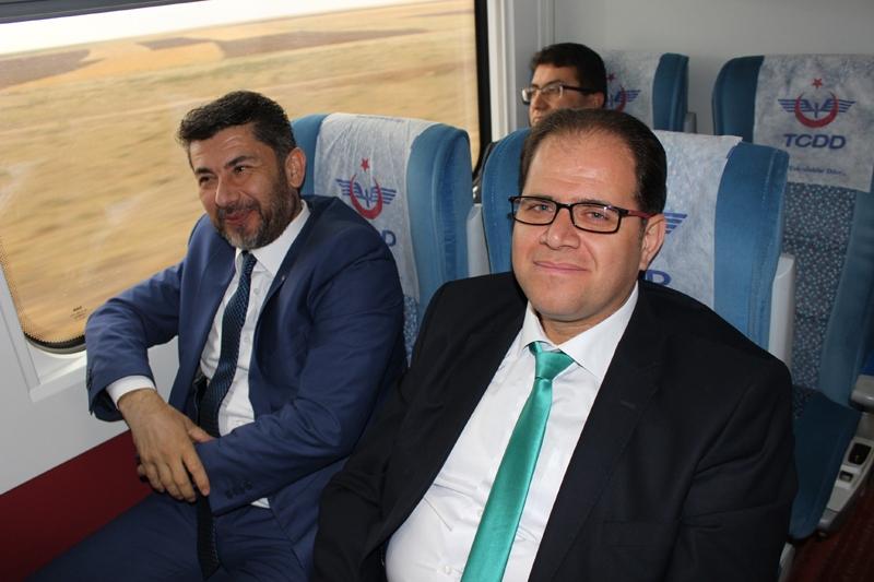 Konyalılar Ankara'ya hızlı trenle gitti 23