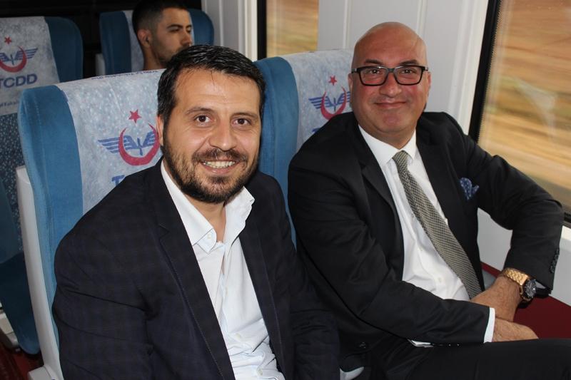 Konyalılar Ankara'ya hızlı trenle gitti 25