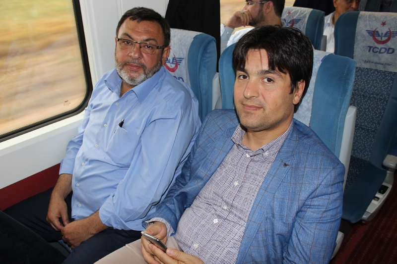Konyalılar Ankara'ya hızlı trenle gitti 26