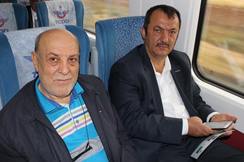 Konyalılar Ankara'ya hızlı trenle gitti 27