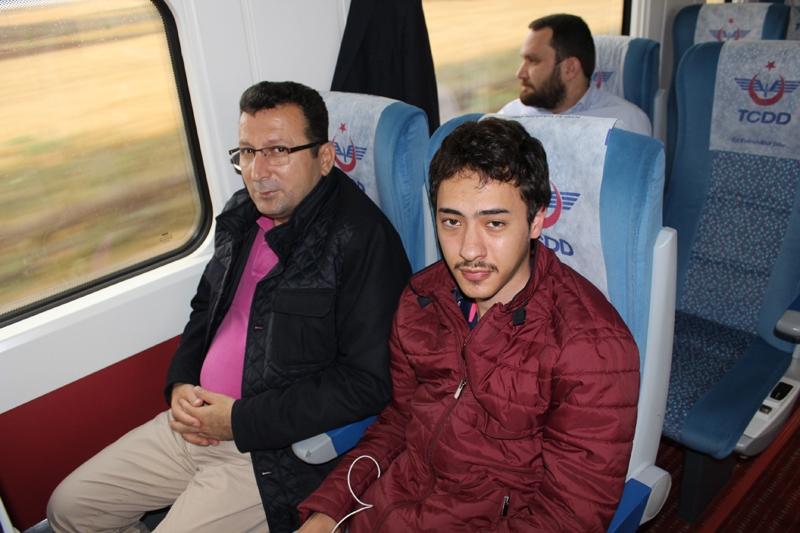 Konyalılar Ankara'ya hızlı trenle gitti 31