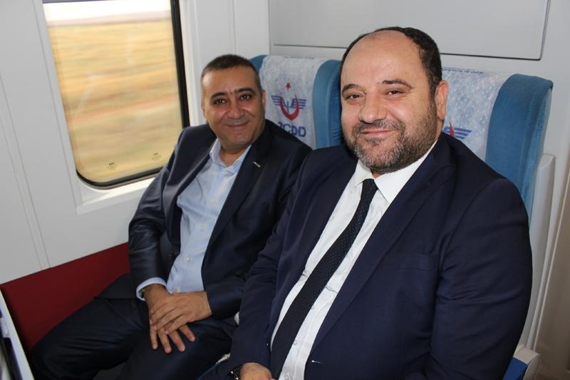 Konyalılar Ankara'ya hızlı trenle gitti 33