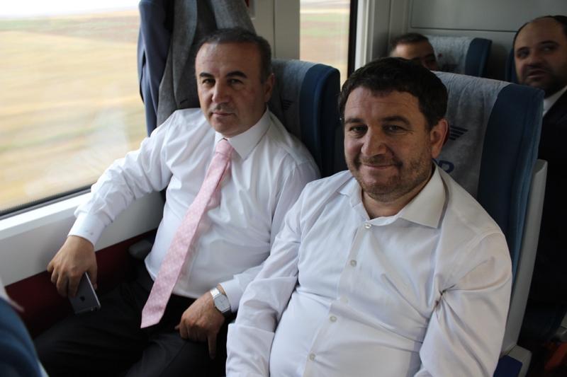 Konyalılar Ankara'ya hızlı trenle gitti 35