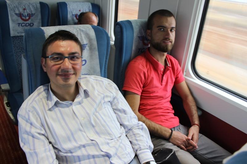 Konyalılar Ankara'ya hızlı trenle gitti 36