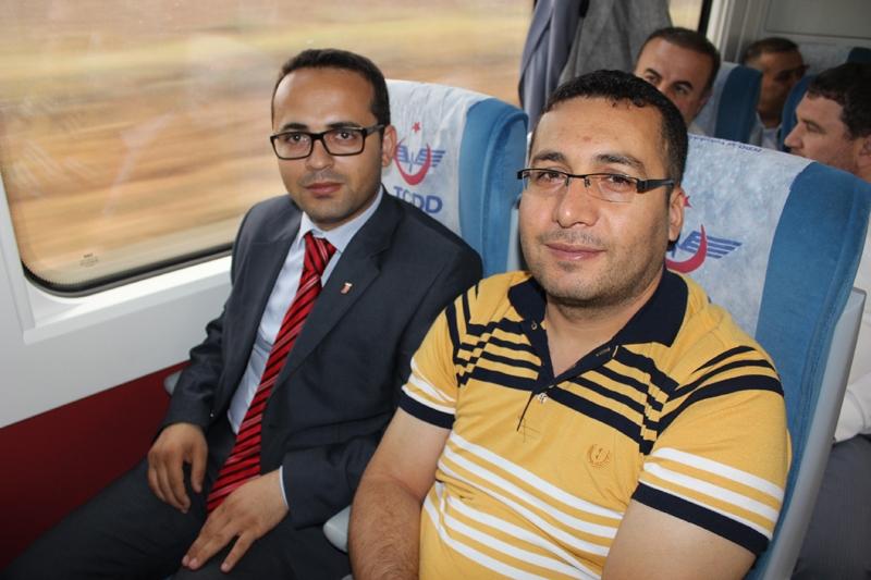 Konyalılar Ankara'ya hızlı trenle gitti 37