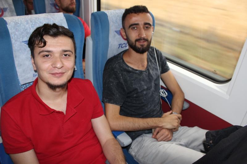 Konyalılar Ankara'ya hızlı trenle gitti 38