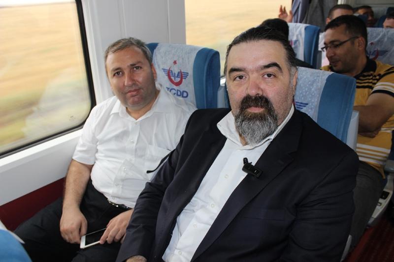 Konyalılar Ankara'ya hızlı trenle gitti 39