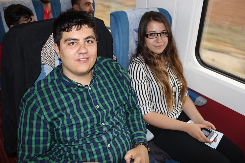 Konyalılar Ankara'ya hızlı trenle gitti 40