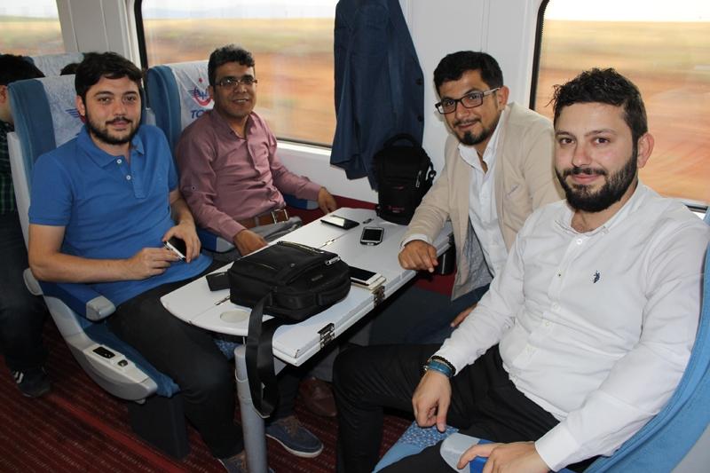 Konyalılar Ankara'ya hızlı trenle gitti 41