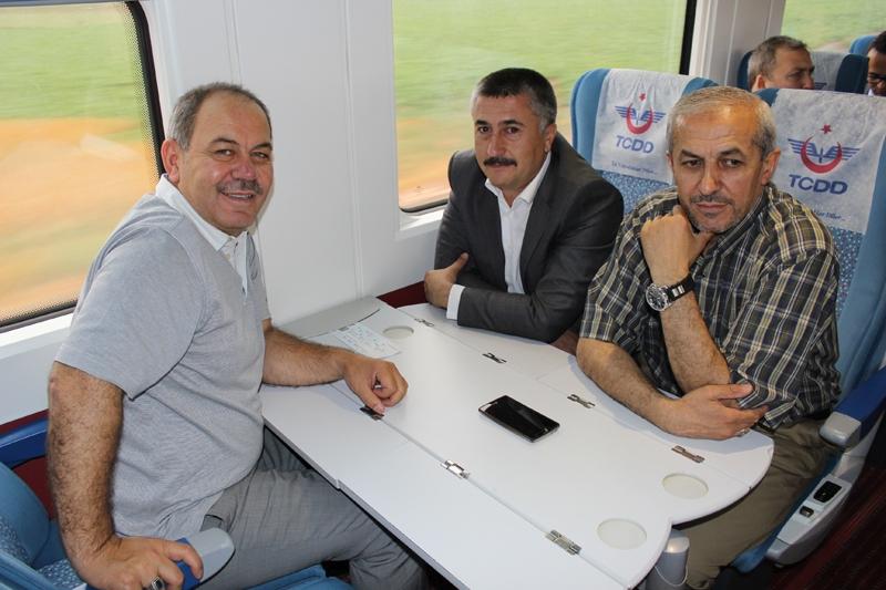 Konyalılar Ankara'ya hızlı trenle gitti 42