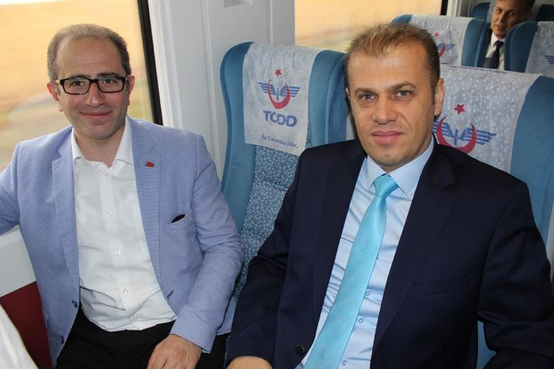 Konyalılar Ankara'ya hızlı trenle gitti 43