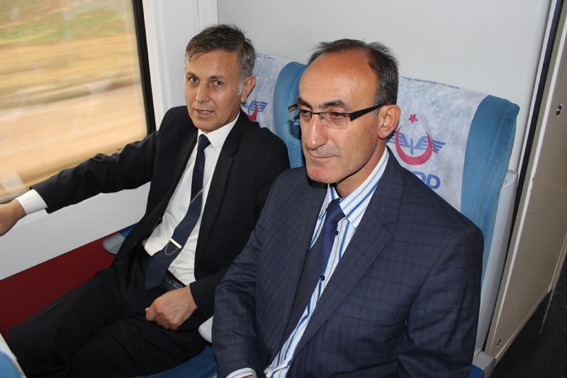 Konyalılar Ankara'ya hızlı trenle gitti 45