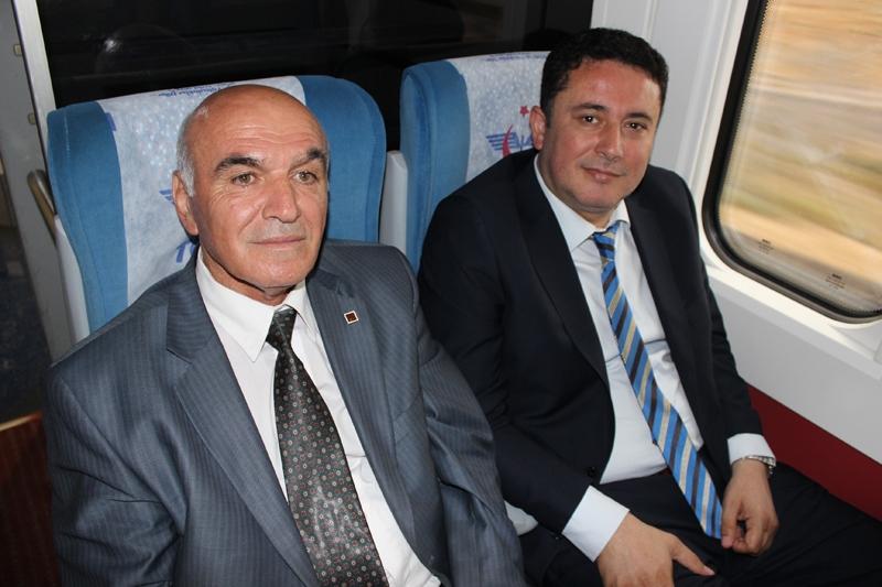 Konyalılar Ankara'ya hızlı trenle gitti 46