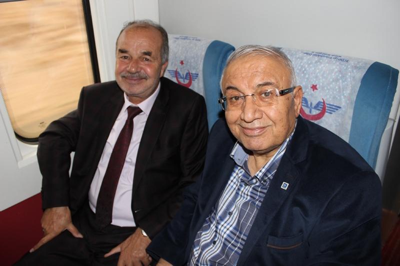 Konyalılar Ankara'ya hızlı trenle gitti 47