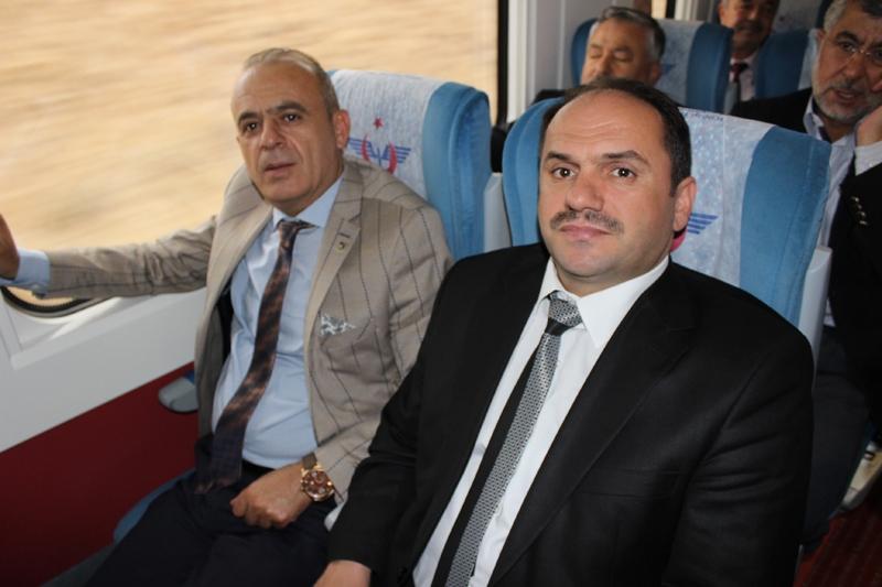 Konyalılar Ankara'ya hızlı trenle gitti 48