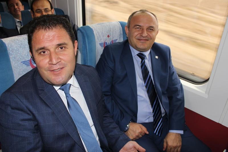 Konyalılar Ankara'ya hızlı trenle gitti 49