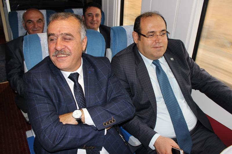 Konyalılar Ankara'ya hızlı trenle gitti 50
