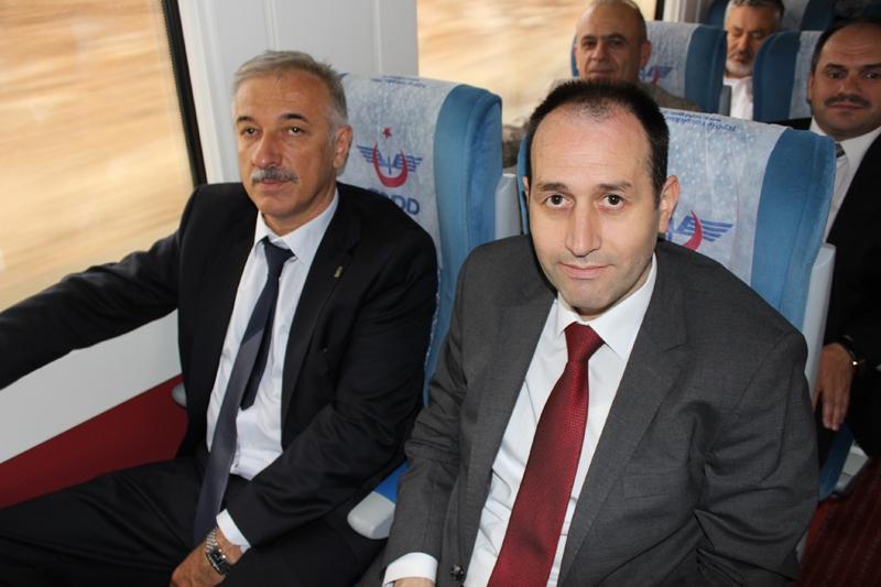 Konyalılar Ankara'ya hızlı trenle gitti 51