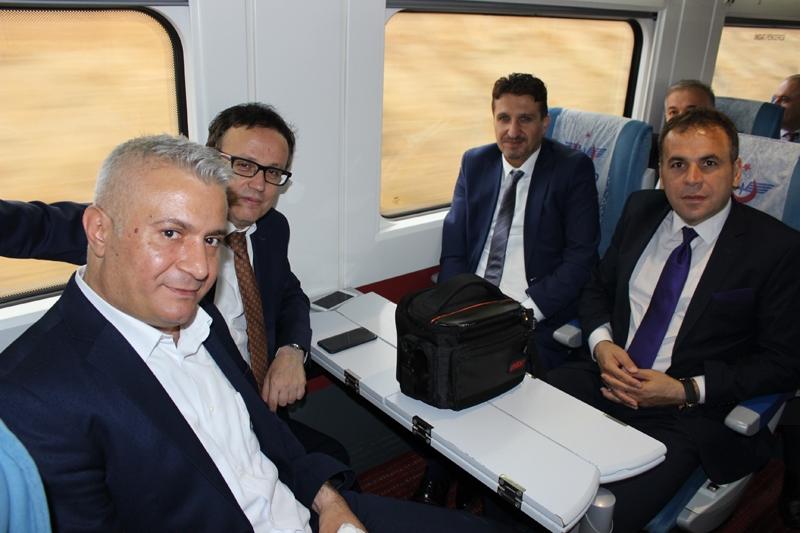 Konyalılar Ankara'ya hızlı trenle gitti 53