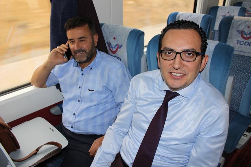 Konyalılar Ankara'ya hızlı trenle gitti 55