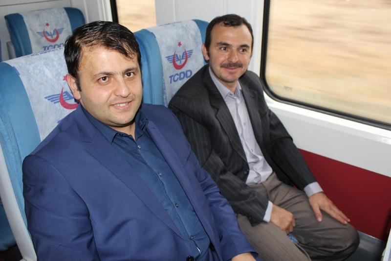 Konyalılar Ankara'ya hızlı trenle gitti 56