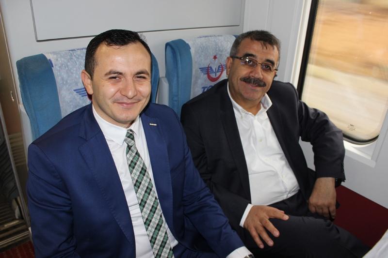 Konyalılar Ankara'ya hızlı trenle gitti 57