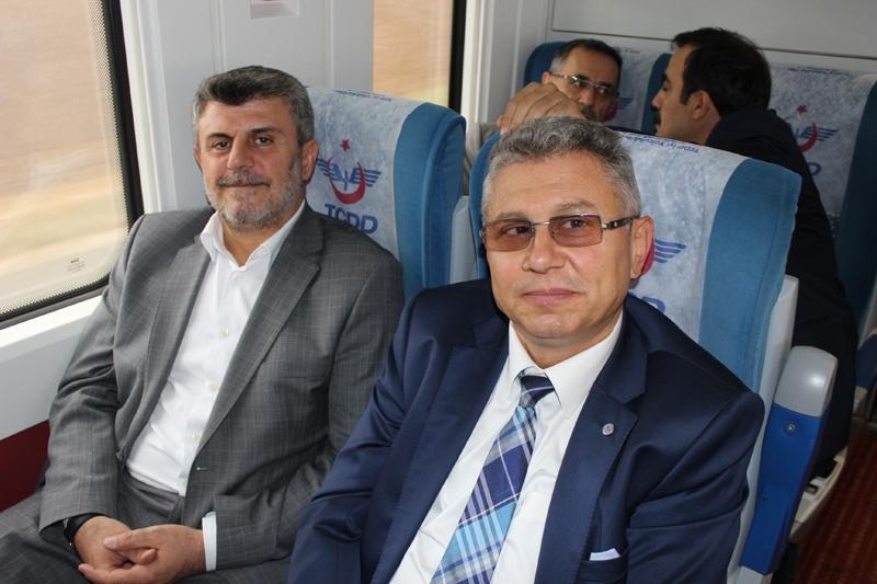 Konyalılar Ankara'ya hızlı trenle gitti 58