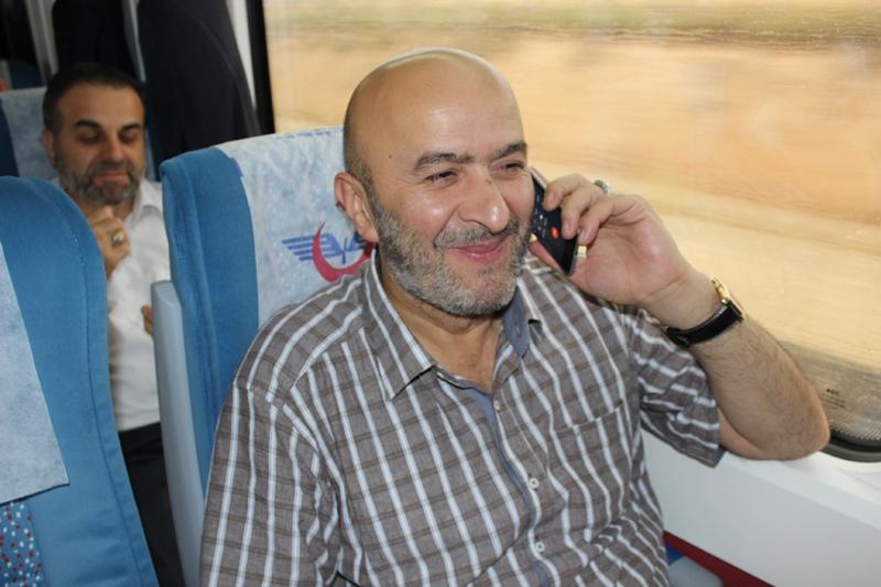Konyalılar Ankara'ya hızlı trenle gitti 6