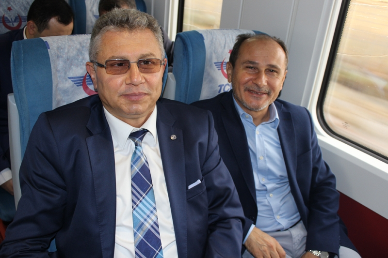 Konyalılar Ankara'ya hızlı trenle gitti 60