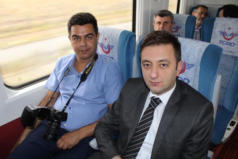 Konyalılar Ankara'ya hızlı trenle gitti 61