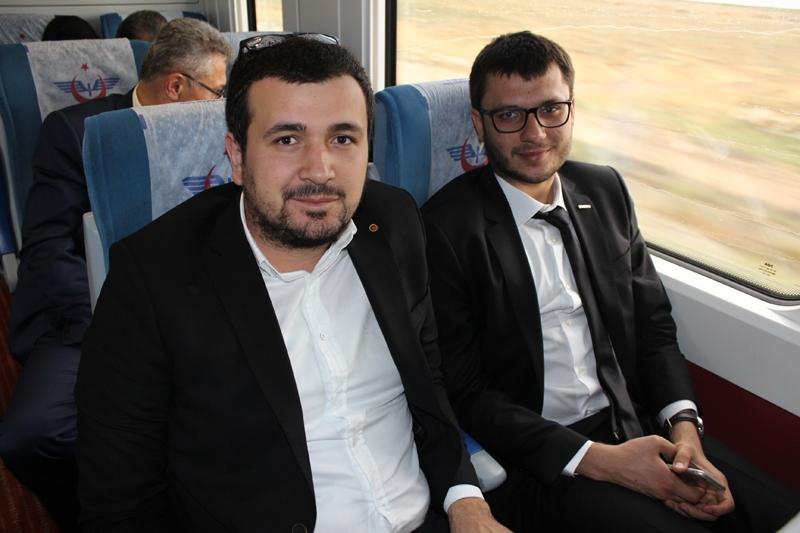 Konyalılar Ankara'ya hızlı trenle gitti 62