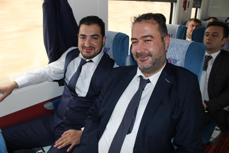 Konyalılar Ankara'ya hızlı trenle gitti 63